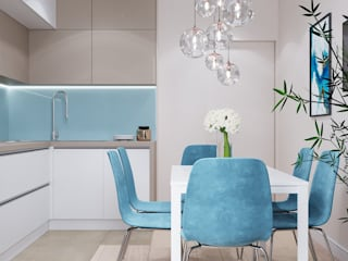 Kitchen units by CUBE INTERIOR, Minimalist