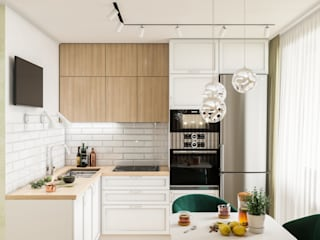 Built-in kitchens by CUBE INTERIOR, Minimalist