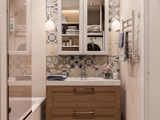 Bathroom by CUBE INTERIOR, Country