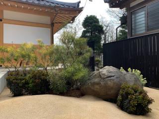 (有)ハートランド สวนหน้าบ้าน หิน Black