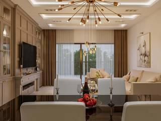 Interior designing Ideas:  Dining room by De Panache ,Modern