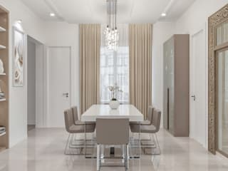House Interior design Ideas:  Dining room by De Panache ,Modern