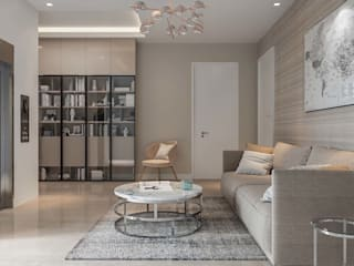 House Interior design Ideas:  Living room by De Panache ,Modern