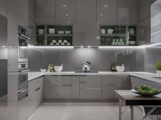 House Interior design Ideas:  Kitchen by De Panache ,Modern
