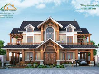 SIÊU PHẨM NHÀ ĐẸP 2 TẦNG TẠI HẢI DƯƠNG bởi Công ty CP kiến trúc và xây dựng Eco Home