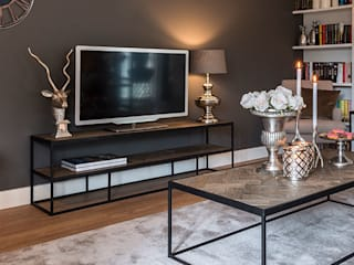 TV stands: industrial  by Modish Living, Industrial