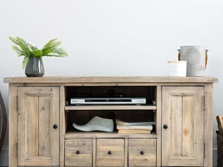 TV stands: rustic  by Modish Living, Rustic