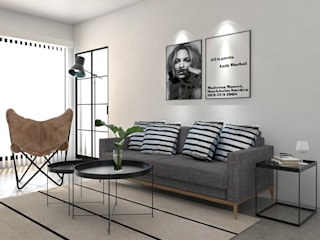 Industrial style living room by Bhavana Industrial