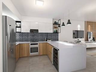 Built-in kitchens by Bhavana,