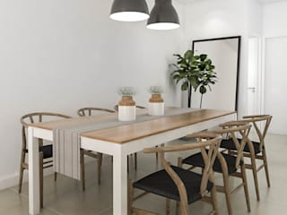 Scandinavian style dining room by Bhavana Scandinavian