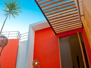 CASA SUNSET Casas modernas de FRACTAL.CORP ARQUITECTURA Moderno