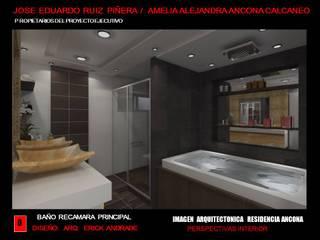 Minimalist style bathroom by ELITE ARQUITECTOS Minimalist