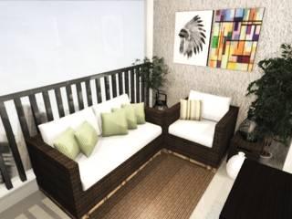 modern  by Nainá Julio  - Designer de Interiores, Modern