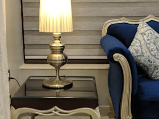 The French Ecstacy - Home Interior Renovation Colonial style living room by The Mystique Interiors Colonial