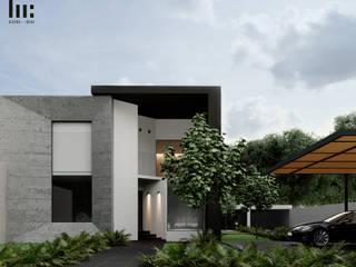 Vila Vizuett de HC Arquitecto Minimalista