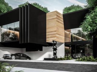 Casa Quiroz de HC Arquitecto Minimalista