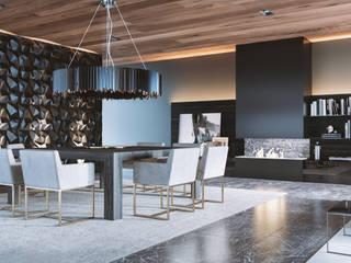 Apartamento 407 Comedores minimalistas de HC Arquitecto Minimalista