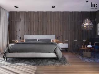 Apartamento 407 Dormitorios minimalistas de HC Arquitecto Minimalista