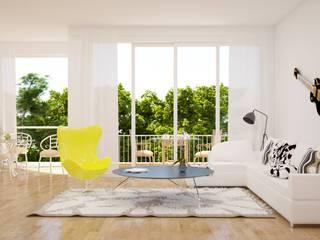 MODERN LIVING ROOM:   by Innovative Wonders,