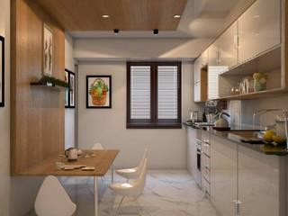 Kitchen by Innovative Wonders Modern Wood Wood effect