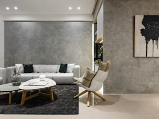 Living room by Fertility Design 豐聚空間設計,