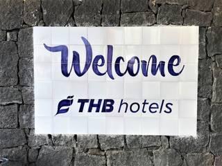Señalética para complejo hotelero THB hotels **** Hoteles de estilo mediterráneo de Artelux Mediterráneo