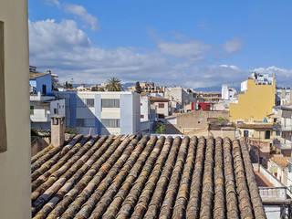 Komplette Renovierung einer Dachgeschosswohnung in El Terreno, Palma de Mallorca ENVIVIR INTERIORISMO Y REFORMAS S.L. Dachterrasse