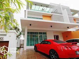 Kiara Residence Puchong Modern garage/shed by ZYON STUDIO SDN BHD(fka zyon interior design sdn bhd) Modern