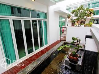 Kiara Residence Puchong Modern houses by ZYON STUDIO SDN BHD(fka zyon interior design sdn bhd) Modern