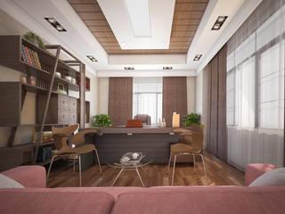 Mohannd design studio Oficinas y bibliotecas de estilo ecléctico