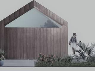 Moradia em Grândola - Projeto que arquitetura Casas modernas por Nuno Ladeiro, Arquitetura e Design Moderno
