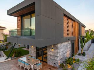 Başak Akkoyunlu Design – Villa Duo:  tarz Villa, Modern