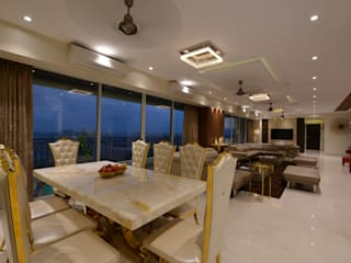 Luxurious Panaroma Modern dining room by Milind Pai - Architects & Interior Designers Modern