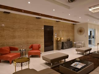 Modern Corridor, Hallway and Staircase by Milind Pai - Architects & Interior Designers Modern