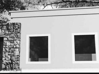 Vivienda en Pilar:  de estilo  por 253 ARQUITECTURA,Rústico