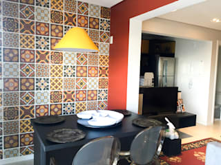 Salle à manger de style  par Maestrelo Arquitetura e Interiores, Moderne