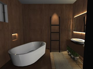 Modern bathroom by Form Arquitetura e Design Modern
