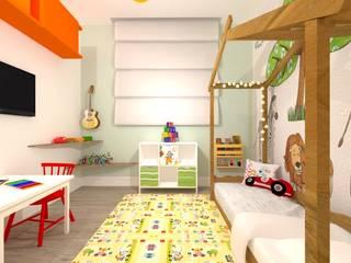 Quarto Montessoriano Talita Kvian Quartos de bebê Amarelo