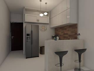 Cocinas equipadas de estilo  por Arkiline Arquitectura Optativa, Moderno