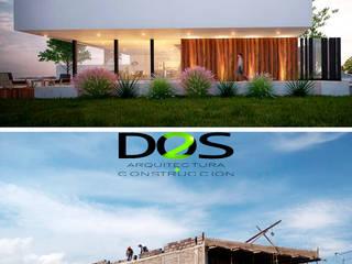 Modern houses by DOS Arquitectura y construcción Modern