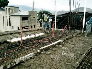 Casa Gama, Tlajomulco obra negra Casas modernas de DOS Arquitectura y construcción Moderno