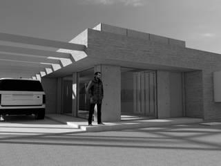 Casas con Geometría Solar Tipo Mediterránea 100m2:  de estilo  por QuimeraWorks,