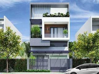 Nhà phố tinh tế:  Villas by Nguyen Hung Architects, Modern