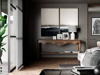 CS 250 Dormitorios minimalistas de HC Arquitecto Minimalista