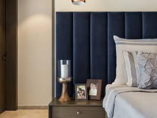 RESIDENCE AT LODHA FIORENZA, MUMBAI Modern style bedroom by VCJ DESIGNS Modern