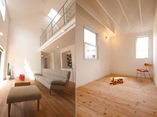 クラシックの家 インテリア一覧 モダンデザインの リビング の クラシック一級建築士事務所 モダン