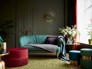 Neuilly Principal Sunbrella Living roomSofas & armchairs Textile Turquoise