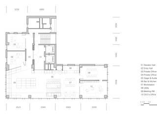 반포동 E 사무실 인테리어 리모델링: studio FOAM Architects의 현대 ,모던