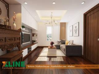 Modern living room by NỘI THẤT XLINE Modern