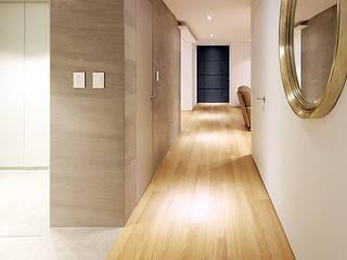 용인시 중앙하이츠빌아파트 인테리어 리모델링 studio FOAM Architects 모던스타일 복도, 현관 & 계단